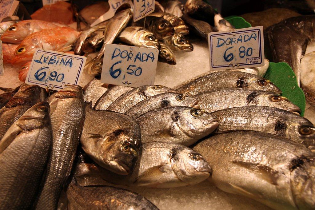 Fishmarket in Barcelona