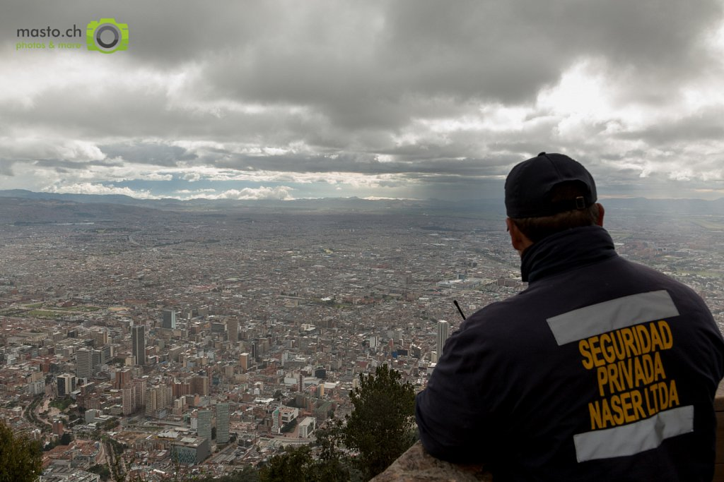 The watchmen of Bogota...