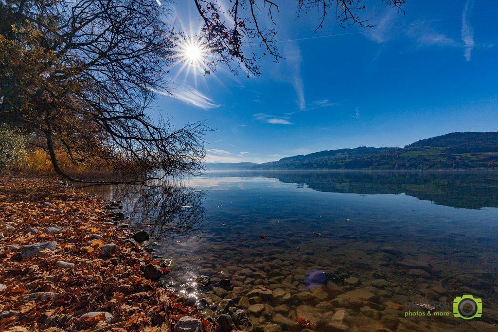 Lake Hallwyl in Autumn