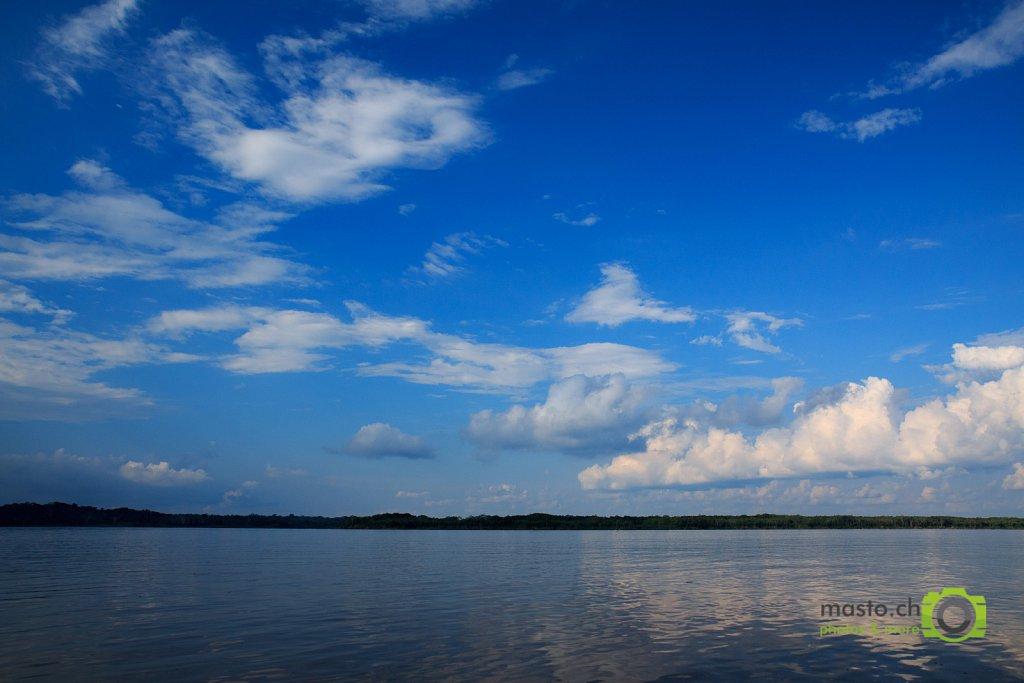 Amazon blue sky